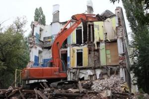 цены на демонтаж зданий в Воронеже